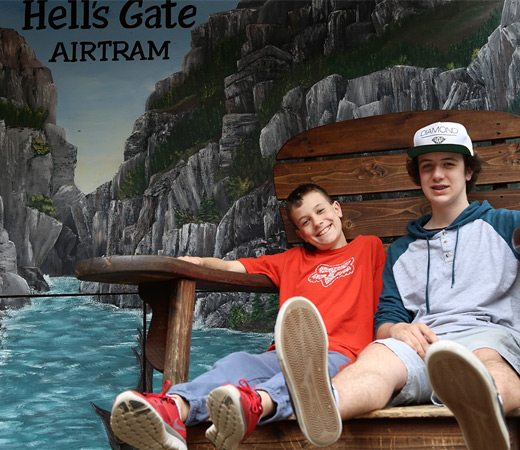 Hell's Gate Airtram Experience